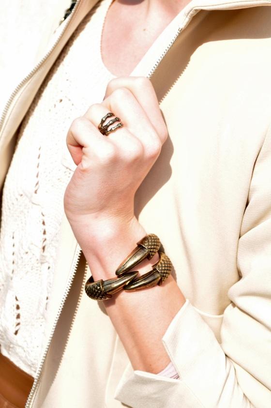 Signaturebymm, Corina Mirea, Pink Champagne, bracelet, claw ring