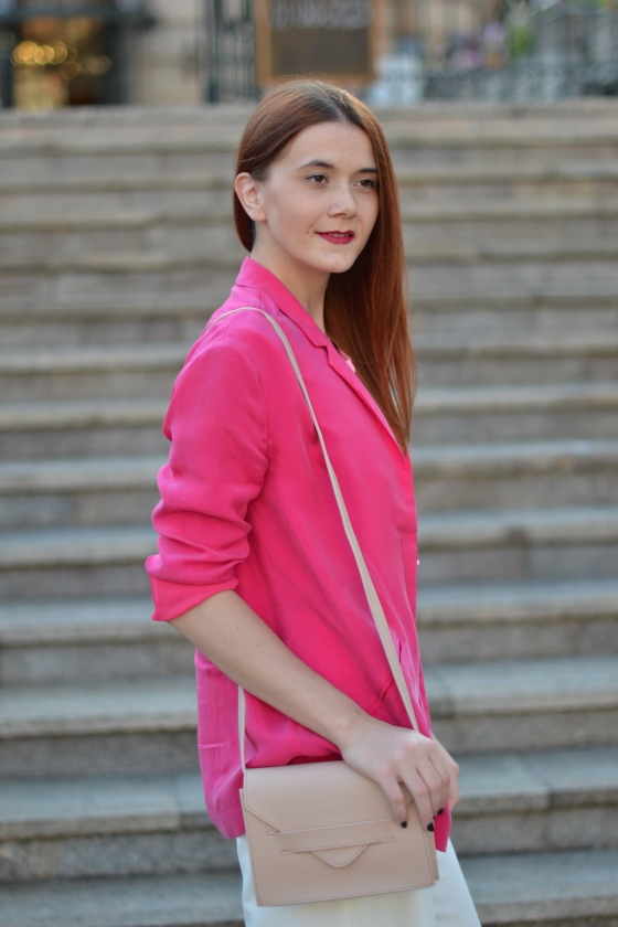 Signature by M&M, signaturebymm, kurtmann, kurtmann.ro, sacou, pink jacket, toamna-iarna 2015, cum sa porti sacou, reduceri, sales