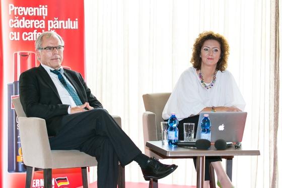 Dr. A. Klenk, Alpecin & Simona Dan, GfK