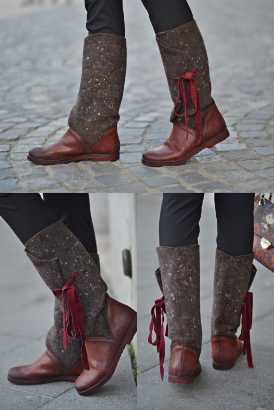 madalina misu, fashion blog, blog de moda, cizme papucei, incaltaminte papucei review, cum sa te imbraci casual, casual outfit, esarfa pe post de sal, cum purtam palaria, cizme din piele, par roz, choies, papucei, zara, kurtmann, love moschino