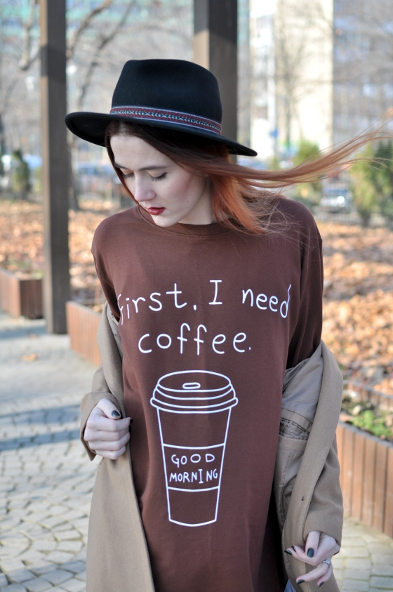 corina_mirea_romwe_coffee_dress_kurtmann_camel_coat_skirt10