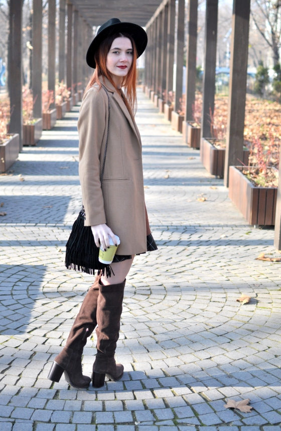 corina_mirea_romwe_coffee_dress_kurtmann_camel_coat_skirt2