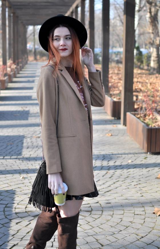 corina_mirea_romwe_coffee_dress_kurtmann_camel_coat_skirt7