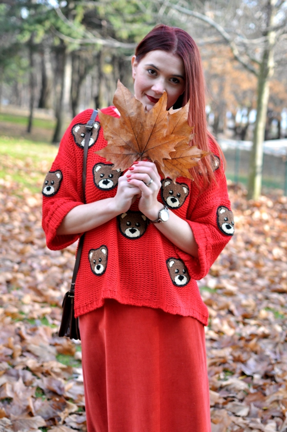 signaturebymm_red_teddy_bear_sweater_romwe8